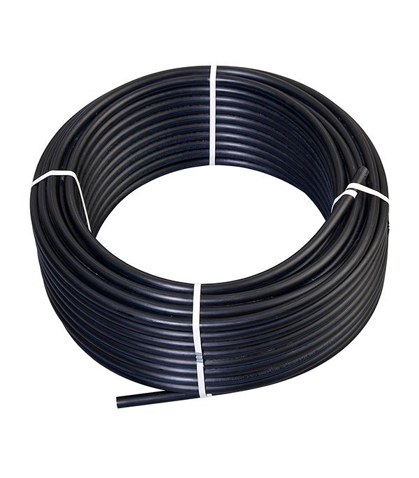 Труба ПНД ПЭ-100 для систем водоснабжения 25 мм бухта 100 м клапан обратный канализационный наружный 110 мм