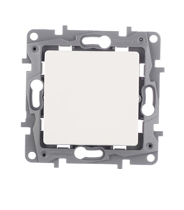 Механизм переключателя одноклавишного с/у Legrand Etika белый выключатель двухклавишный наружный бежевый 10а quteo