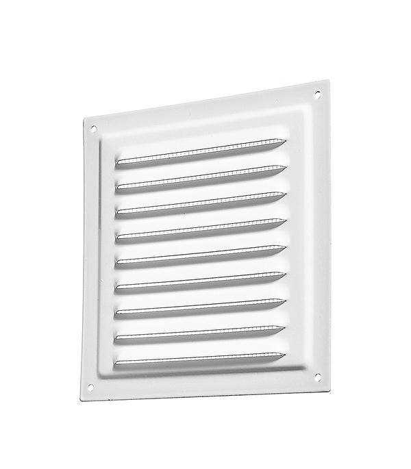 Решетка вентиляционная вытяжная стальная 150х150 мм