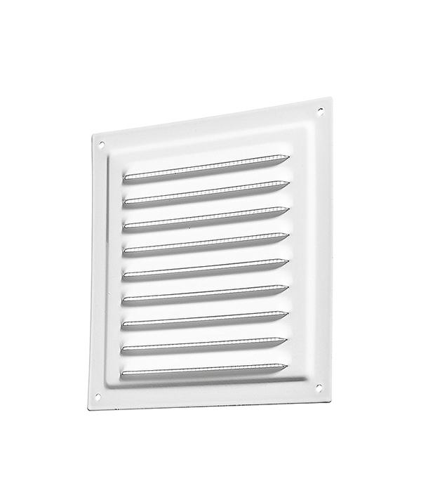 Решетка вентиляционная вытяжная стальная 200х200 мм