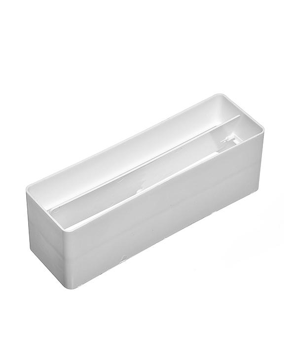 Соединитель для плоских воздуховодов пластиковый с обратным клапаном 60х204 мм