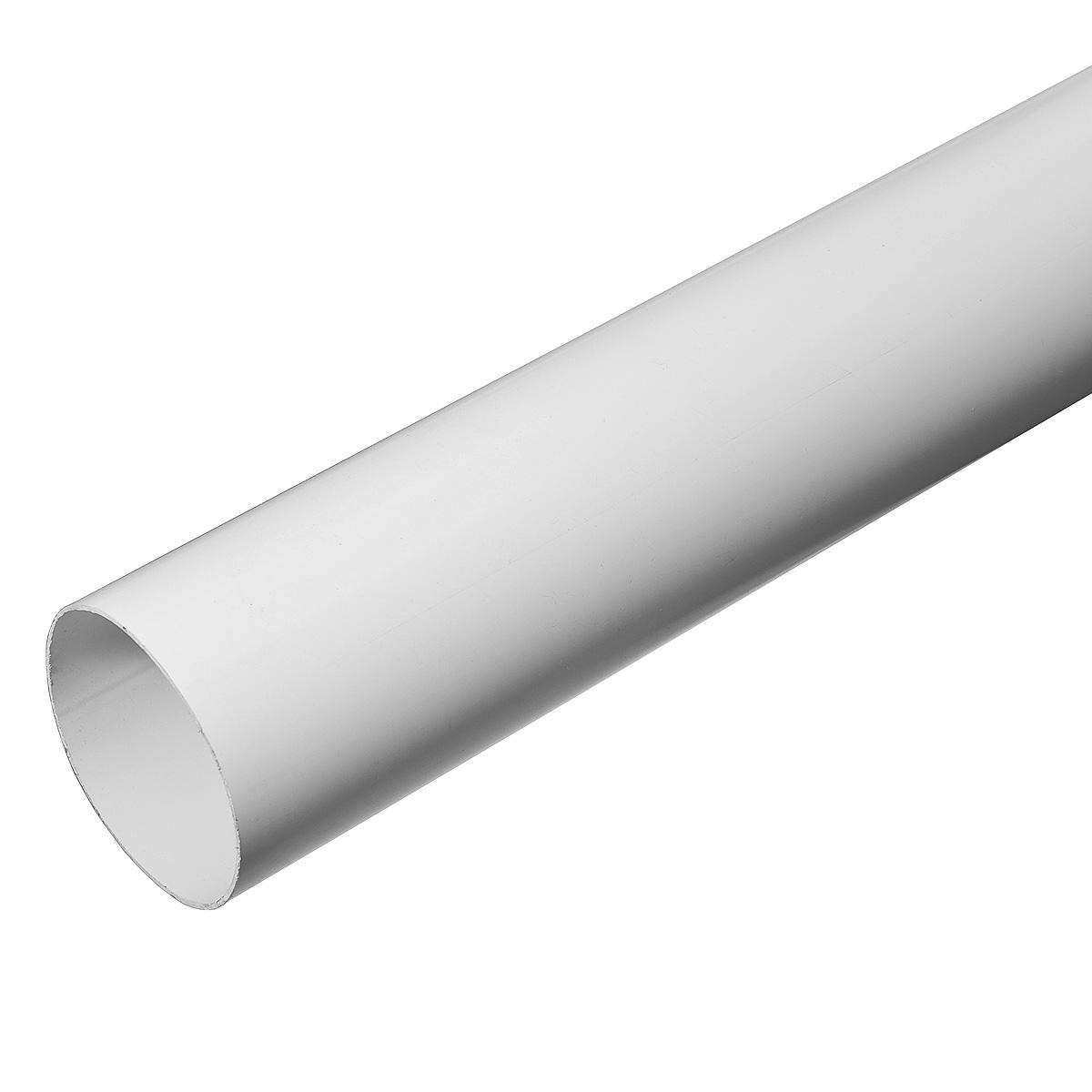 Труба водосточная пластиковая d90 мм  белая 4м VINYL-ON
