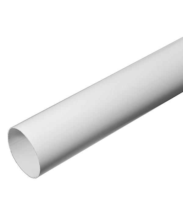 Труба водосточная Vinyl-On пластиковая d90 мм белая 4 м угол желоба внутренний grand line 125 90° красное вино металлический
