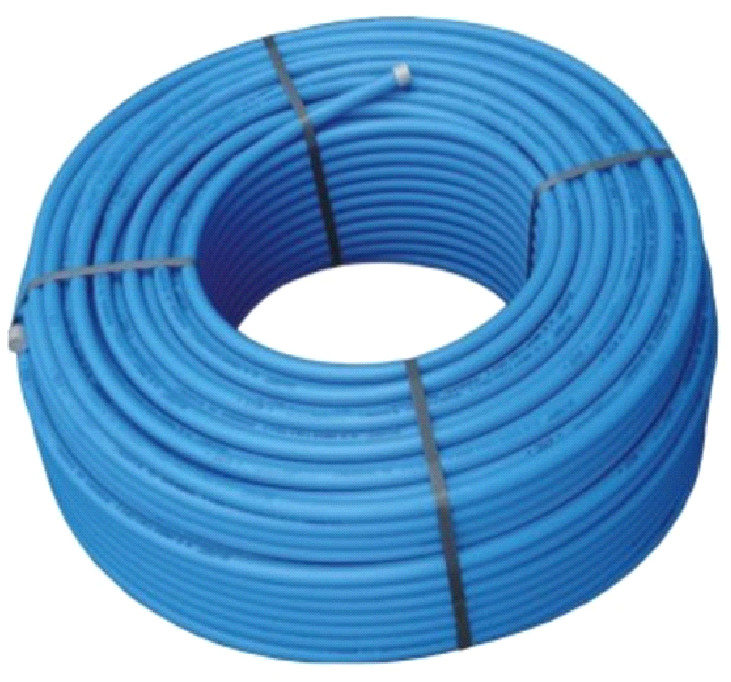 Труба ПНД (ПЭ-100) для систем водоснабжения 32х3 мм (бухта 100 м) синяя