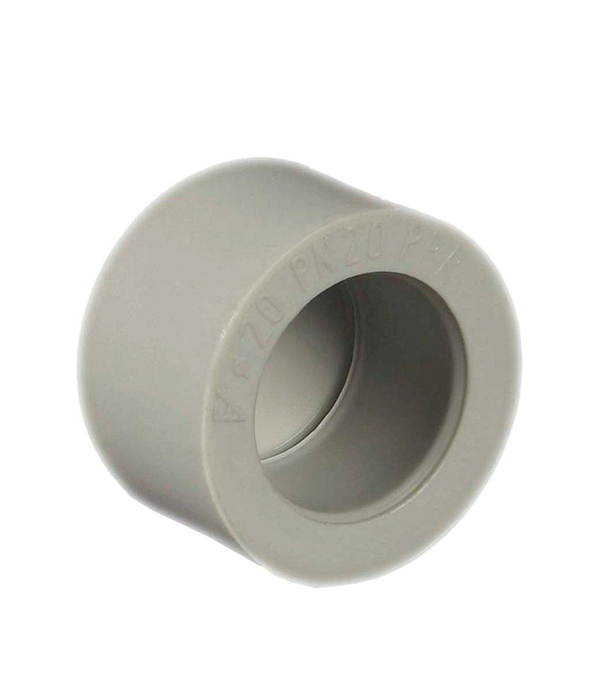 Заглушка полипропиленовая 32 FV-PLAST серая