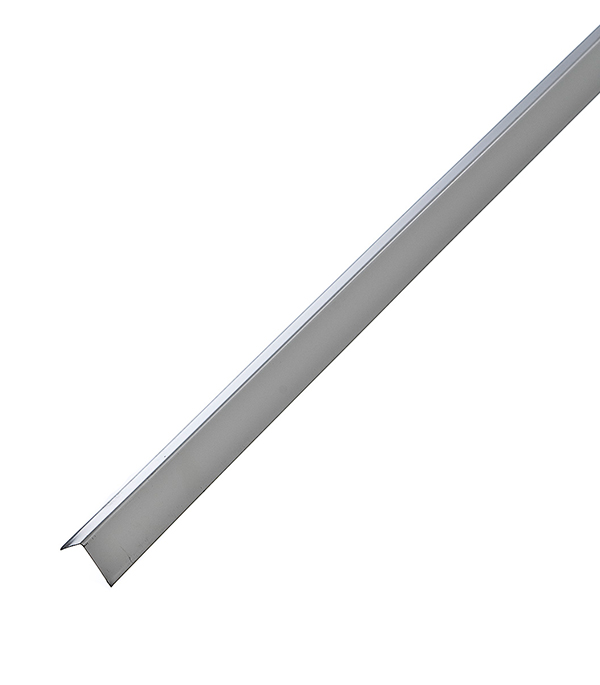 Профиль угловой универсальный PL 19х24х3000 мм белый оцинкованный профиль оцинкованный для теплиц