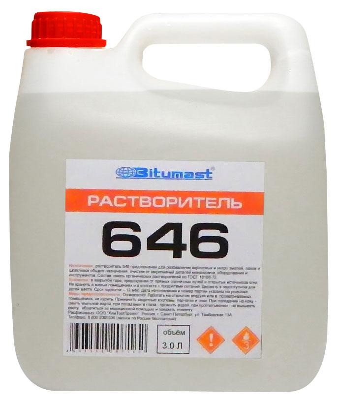 Растворитель 646 Bitumast 2,4 кг/2,8 л