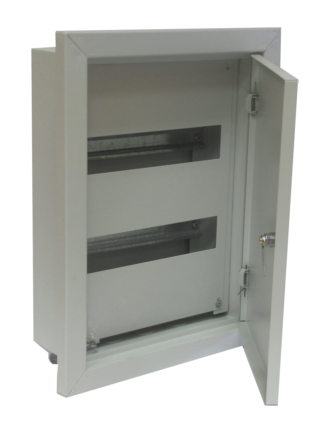 Щиток встраиваемый для 24 модулей металлический , IP31, ИЭК, ЩРВ