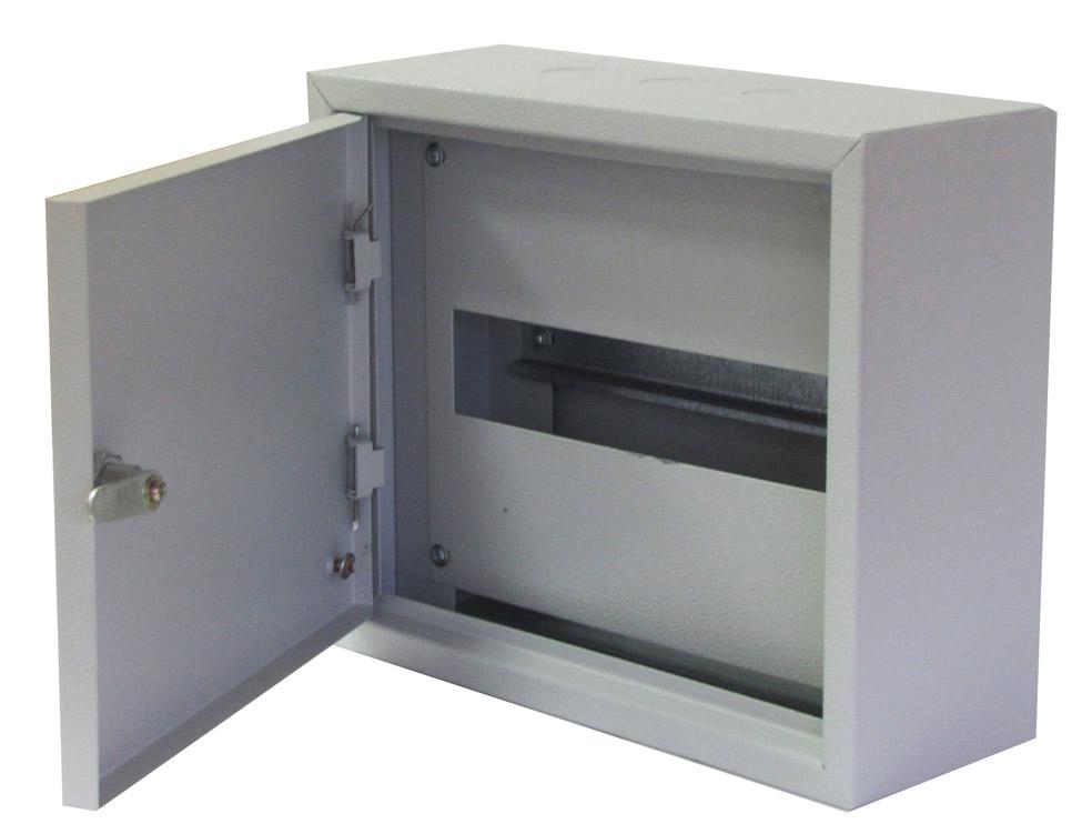 Щиток навесной для 12 модулей металлический , IP31, ИЭК, ЩРН
