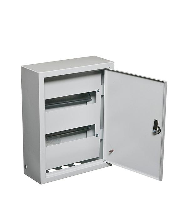Щиток навесной IEK ЩРН для 24 модулей металлический IP31 щиток навесной schneider electric kaedra для 24 модулей пластиковый ip65