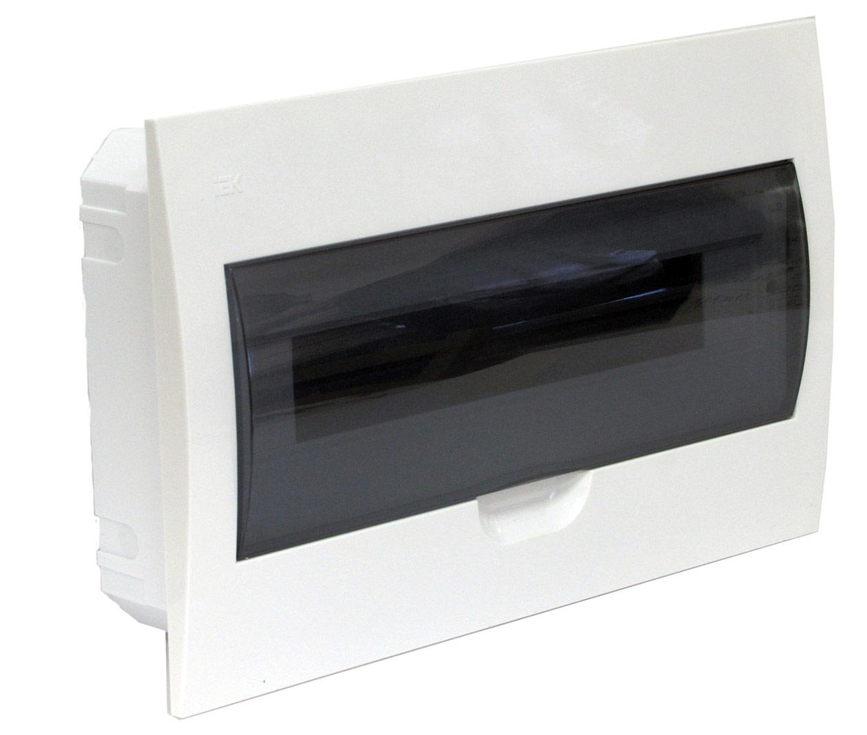 Щиток встраиваемый для 18 модулей пластиковый , IP41, ИЭК, ЩРВ-П