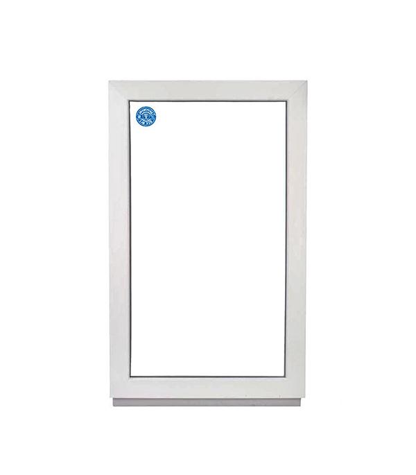 Окно металлопластиковое белое 1000х600 мм глухое