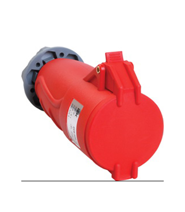 Розетка кабельная IEK 400В 3P+N+E 32А IP44 контактор пм12 025100 400в iek kkp 025 400 10 278185