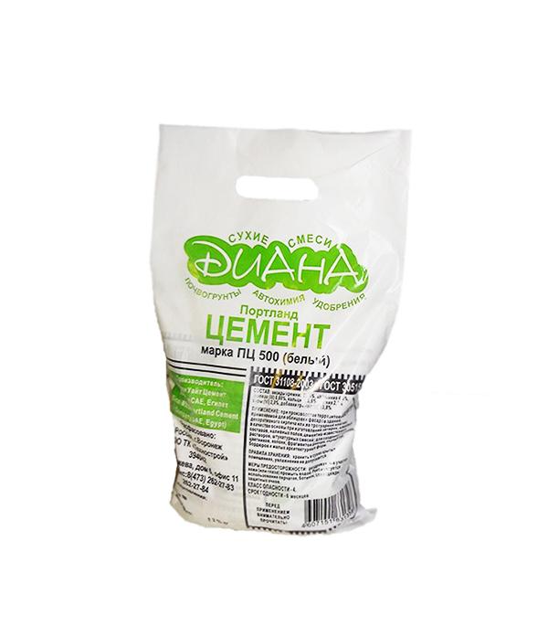 Цемент белый Diana, 5 кг