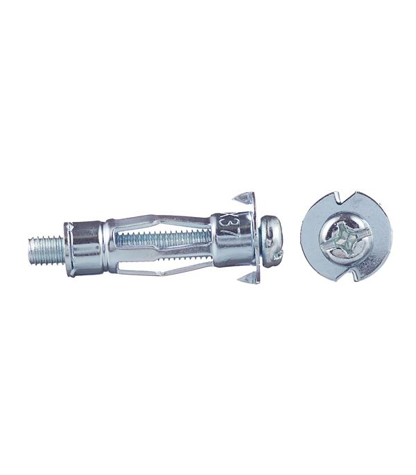 Анкер для листовых материалов HM 6х37 S (4 шт) Fischer анкер для листовых материалов 4 10 mola 6 шт с крюком полукольцом rawlplug