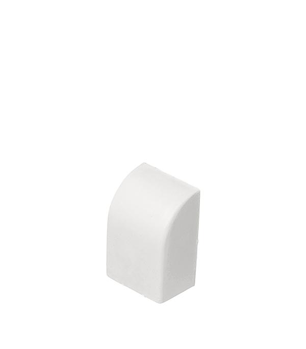 Заглушка для кабель-канала 15х10 мм белая (4 шт.)