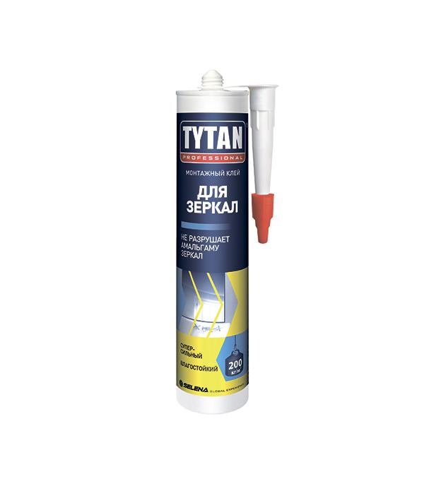 Жидкие гвозди Tytan для зеркал 310 мл упаковка 12 шт х 310 мл клея монтажного tytan professional classic fix прозрачного