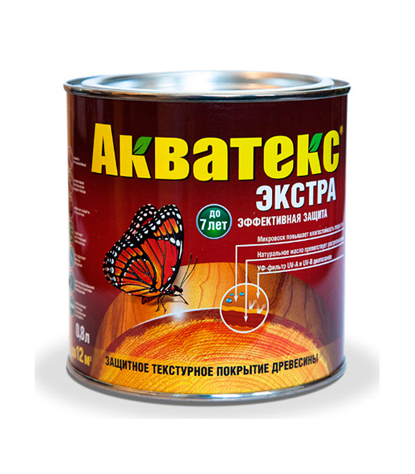 Антисептик Акватекс Экстра палисандр Рогнеда  0,8 л