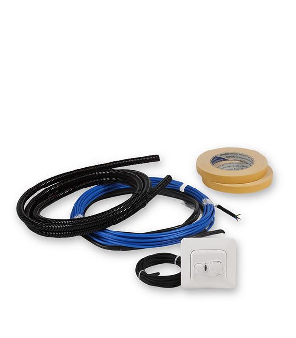 Комплект теплого пола ENSTO FinnKit 0,7-1 м. кв. 10м (115 Вт) + терморегулятор ECO10FJ терморегулятор для теплого пола теплолюкс тс 201 белый