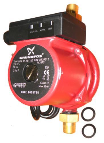Насос повышения давления Grundfos UPA 15-90 с гайками