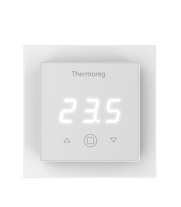 Терморегулятор цифровой для теплого пола Thermoreg TI 300 терморегулятор для теплого пола теплолюкс тс 201 белый