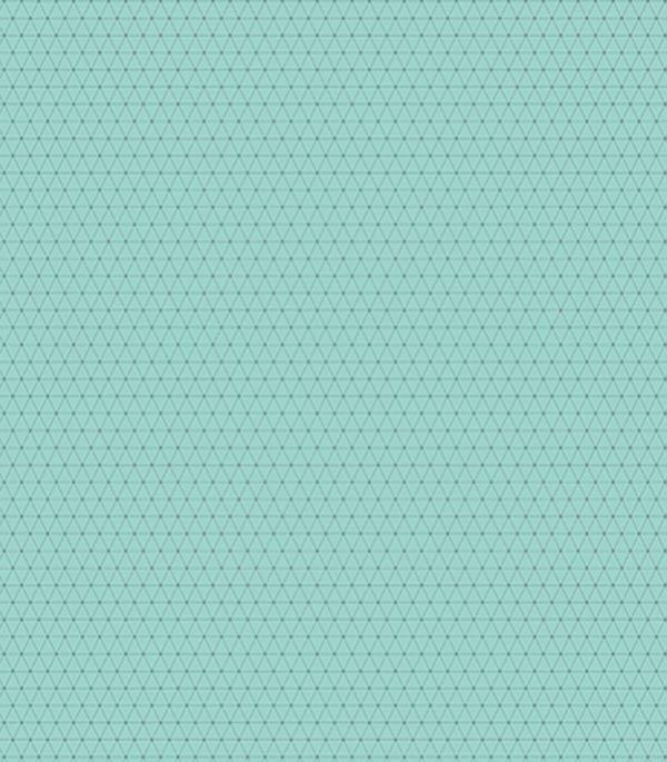 Плитка напольная 400х400х8 мм Концепт 2П бирюзовая (11 шт.=1,76 кв.м.)