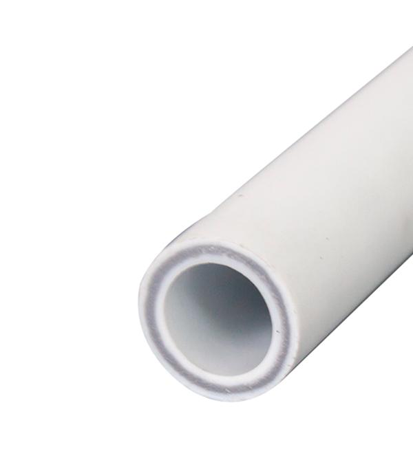 Труба полипропиленовая армированная стекловолокном РТП 25х2000 мм PN 25  труба полипропиленовая 25х2000 мм pn 20 серая