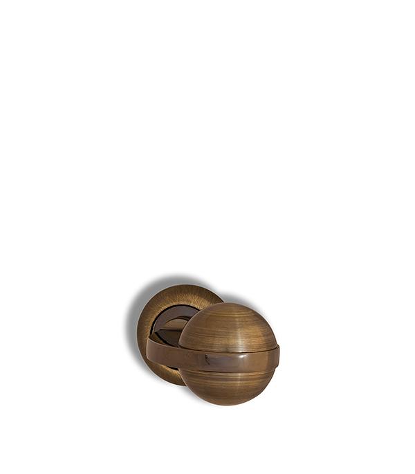 Ручки дверные Оникс LUX Комо (бронза) LC 001 АВ