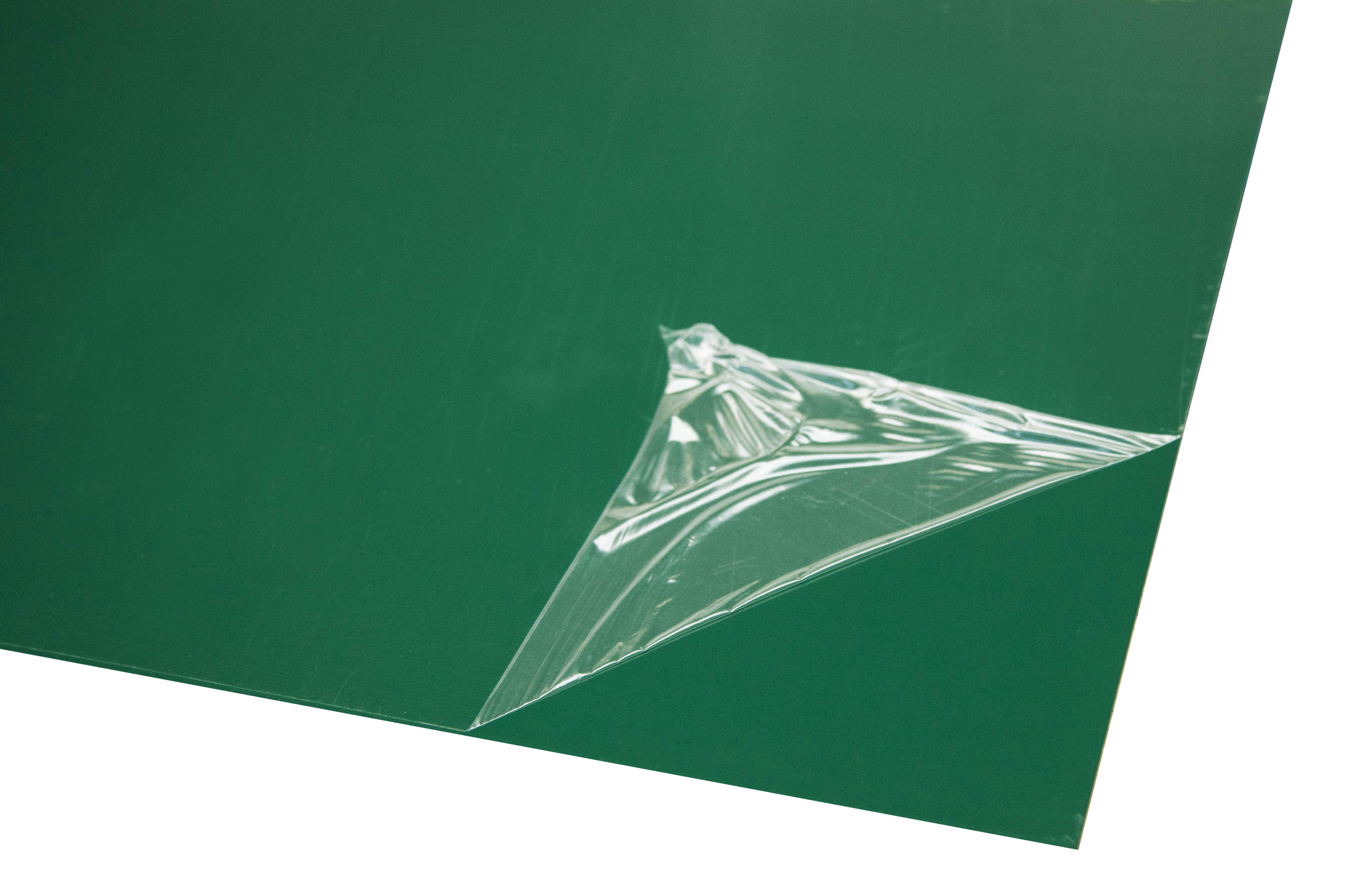 Лист оцинкованный 1250х2000х0,37 мм зеленый RAL 6005