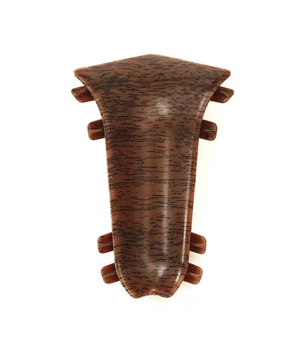 Угол внутренний Орех темный 55 мм 2 шт.