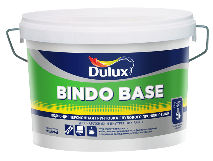Грунт Bindo Base водно-дисперсионный Dulux 2,5 л