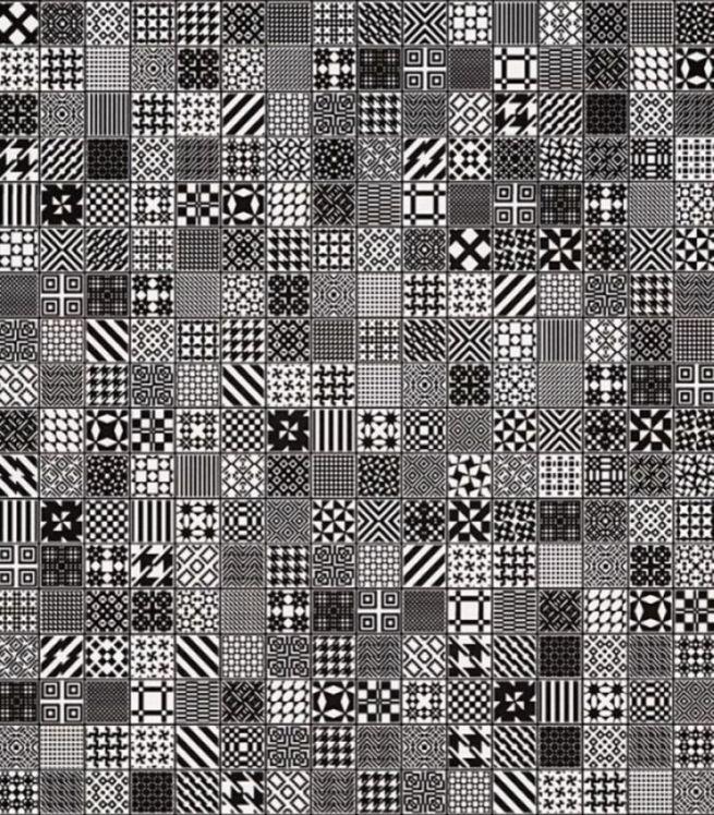 Плитка облицовочная 300х600х8 мм Мэриленд черный (8шт=1,44 кв.м)