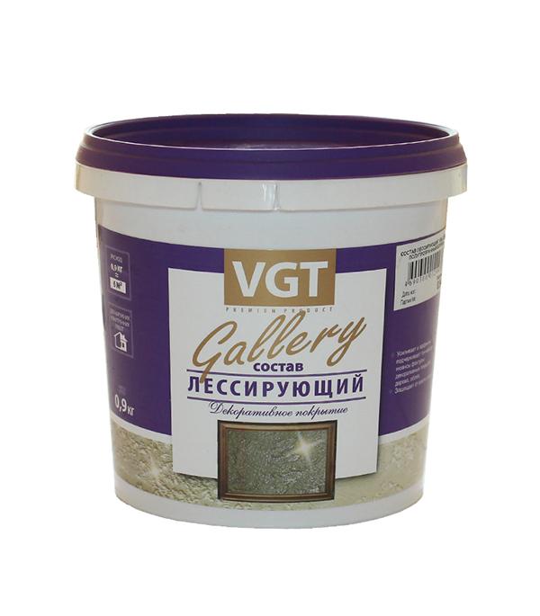 Состав лессирующий VGT Gallery бесцветный 0,9 кг состав лессирующий vgt gallery бесцветный 0 9 кг