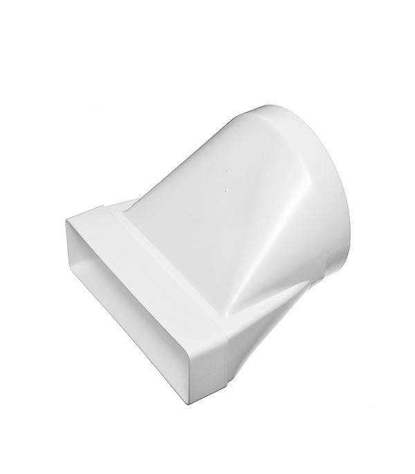 Соединитель эксцентриковый пластиковый для плоских воздуховодов 60х204 мм с круглыми d160 мм