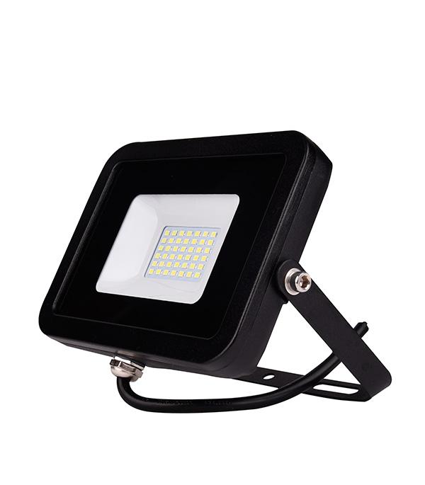 Прожектор светодиодный 30Вт, IP65 (плоский корпус)