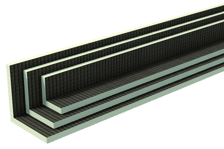 Уголок Плитонит L-профиль 1200х150х150х20 мм для сантехнических труб