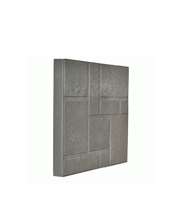 Плитка тротуарная полимерно-песчаная 330х330х38 мм серая
