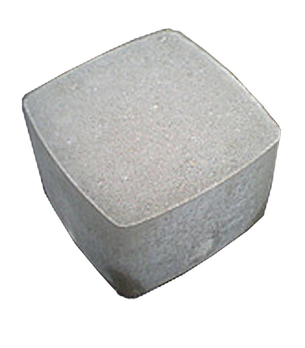 Плитка тротуарная Брусчатка (классика) 115х115х60 мм серая