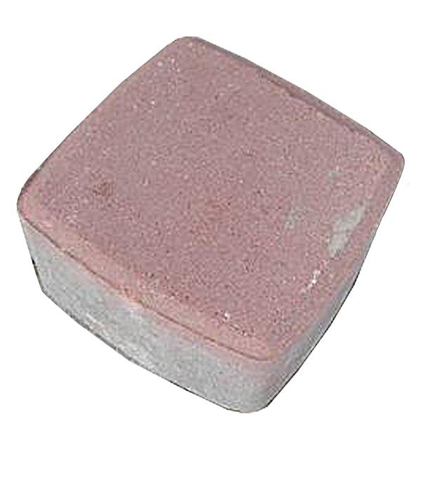 Плитка тротуарная Брусчатка (классика) 115х115х60 мм красная