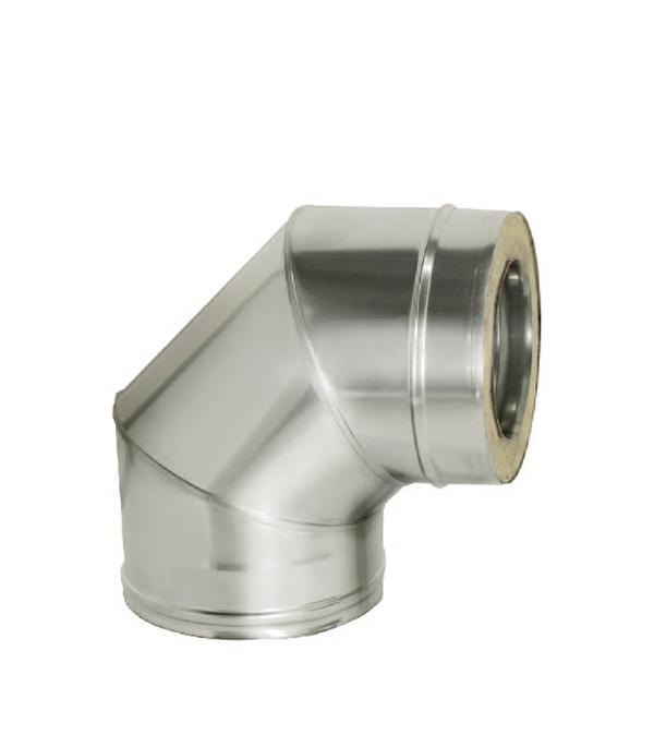 Отвод Дымок 90° с изоляцией 150x230 отвод дымок 45° с изоляцией 150x230