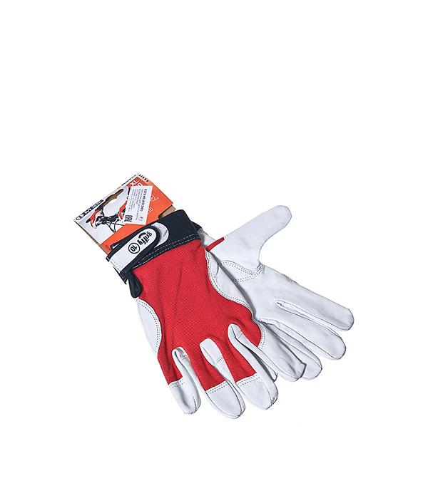 Перчатки из кожи наппа для монтажных работ KWB Профи