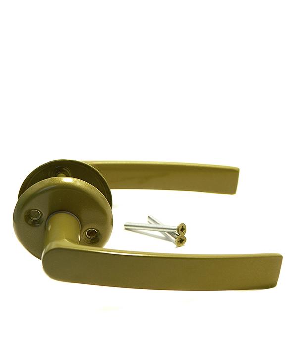 Ручка дверная 16/006 G/Al (фисташка)