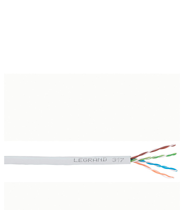 Кабель компьютерный FTP (экранированный) 4х2х0,52, 5е Legrand