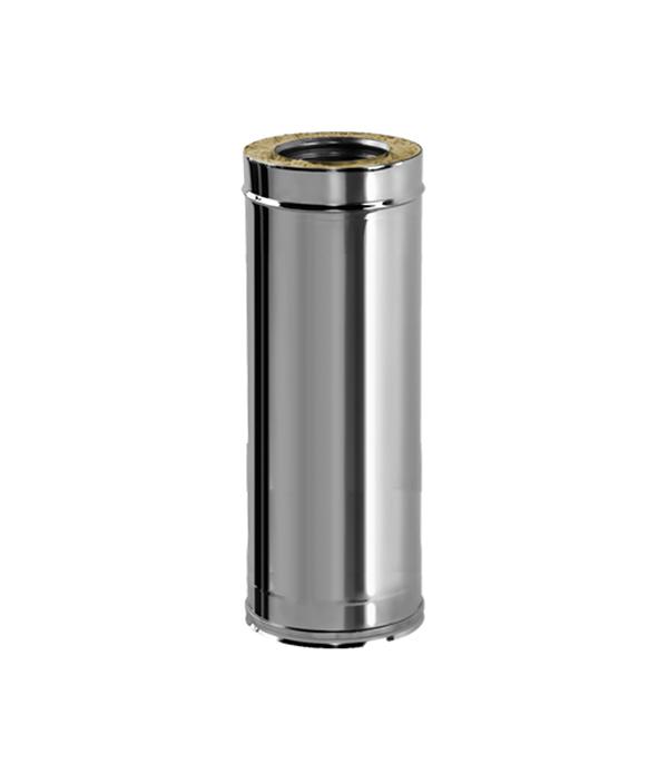 Труба Вулкан V50R 1000 мм 120x220 нерж 321x304