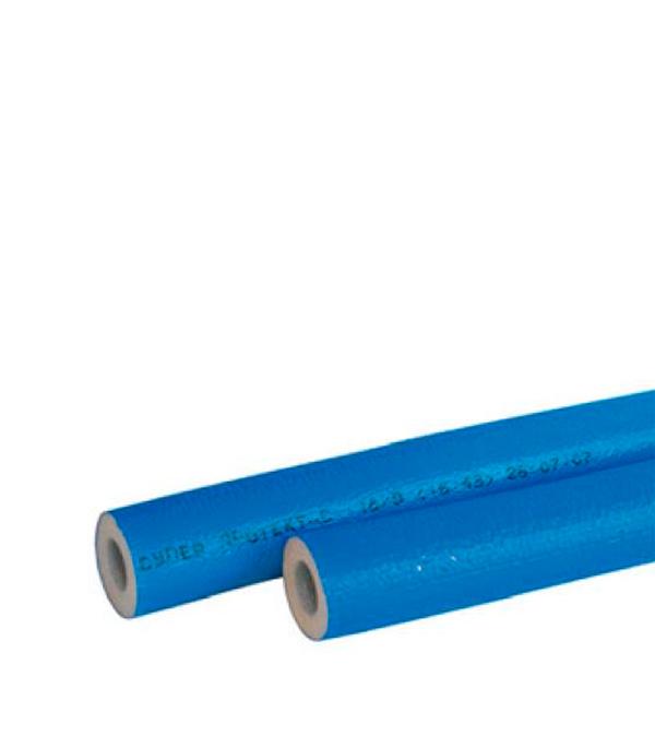 Теплоизоляция для труб 22х4 мм синяя (бухта 11 м)