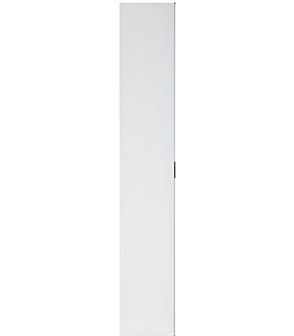 Дверное полотно VELLDORIS белое гладкое глухое ответная часть М3х21 345х2050 мм с притвором  цена и фото