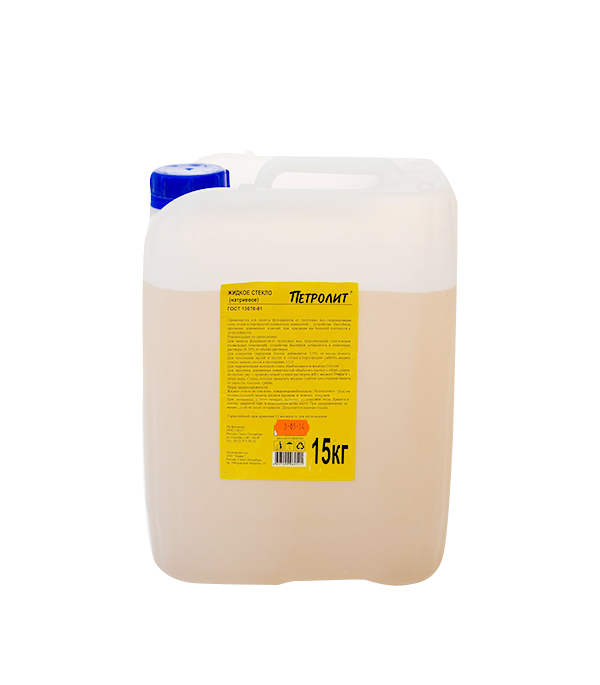 Жидкое стекло Петролит  15 кг