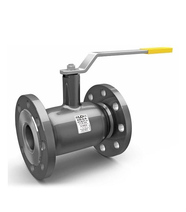 Кран шаровый фланцевый Ду100 стандартнопроходной стальной PN16, LD кран шаровый муфтовый ld pn40 ду40 1 1 2 в в стандартнопроходной стальной