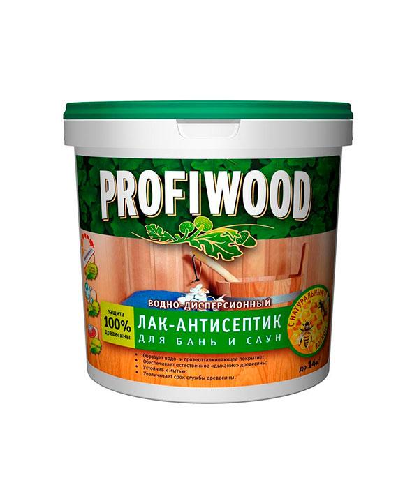 Лак для бань и саун Profiwood в/д 0,9 кг
