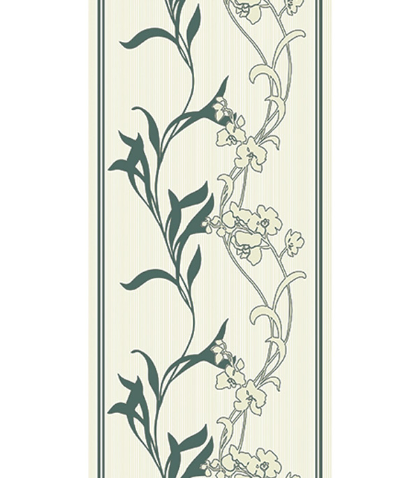 Панель ПВХ орхидеи изумруд 250х2700х8 мм